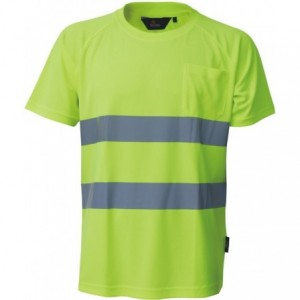 Koszulka t-shirt ostrzeg.coolpass żółty m Beta VWTS01-AY/M