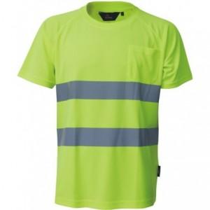 Koszulka t-shirt ostrzeg.coolpass żółty s Beta VWTS01-AY/S