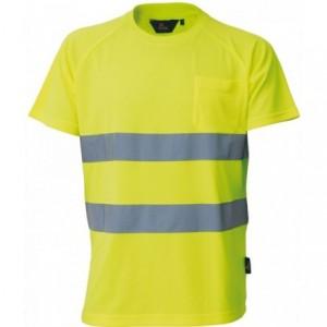 Koszulka t-shirt ostrzegawczy żółty m Beta VWTS01-BY/M
