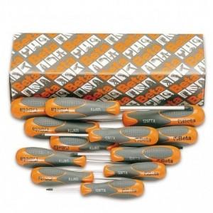 Komplet wkrętaków Betamax profil torx Betamax 1297tx t6-t45 12 sztuk w kartonie Beta...