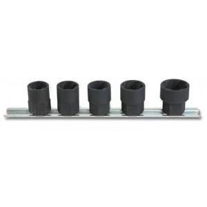 Komplet nasadek specjalnych 1428 20-27mm 5 sztuk na szynie metalowej Beta 1428/SB5