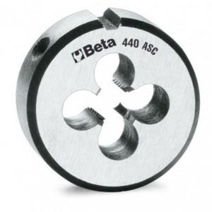 """Narzynka okrągła Beta 440ASC STAL CHROMOWA GWINT CALOWY UNC 3/8""""X16"""