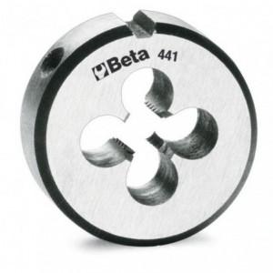 Narzynka okrągła Beta 441 STAL CHROMOWA GWINT METRYCZNY DROBNOZWOJNY M8X1mm
