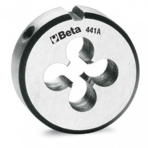 Narzynka okrągła Beta 441A STAL CHROMOWA GWINT METRYCZNY DROBNOZWOJNY M10X0,7mm