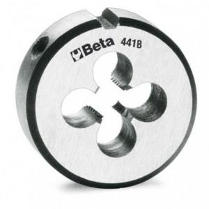 Narzynka okrągła Beta 441B STAL CHROMOWA GWINT METRYCZNY DROBNOZWOJNY M22X1,5mm