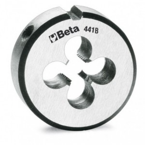Narzynka okrągła Beta 441B STAL CHROMOWA GWINT METRYCZNY DROBNOZWOJNY M24X1,5mm